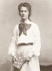 Cissy van Marxveldt als jong meisje