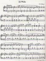 bladmuziek Mozart