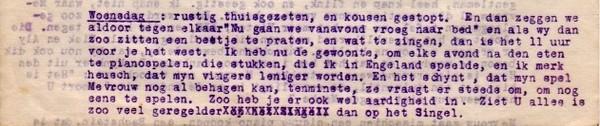 brief van Cissy van Marxveldt aan haar ouders